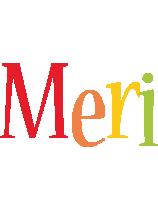 Meri birthday logo