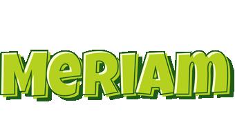Meriam summer logo