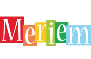 Meriem colors logo