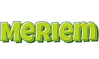Meriem summer logo