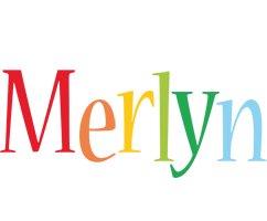 Merlyn birthday logo
