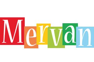 Mervan colors logo