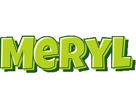 Meryl summer logo