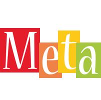 Meta colors logo