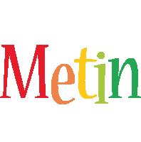 Metin birthday logo