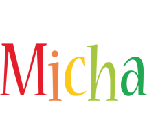 Micha birthday logo
