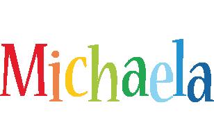 Michaela birthday logo