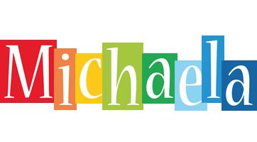 Michaela colors logo