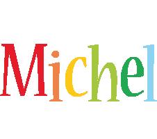 Michel birthday logo