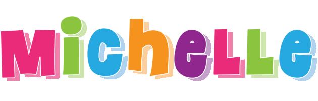 M Letter In Heart Michelle Logo | Name L...