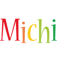 Michi birthday logo