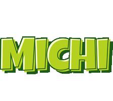 Michi summer logo