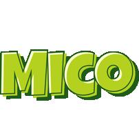 Mico summer logo