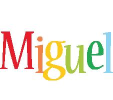 Miguel birthday logo