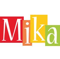 Mika colors logo
