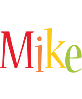 Mike birthday logo