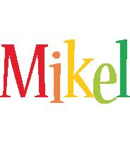 Mikel birthday logo