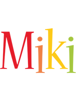 Miki birthday logo