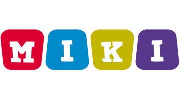 Miki kiddo logo