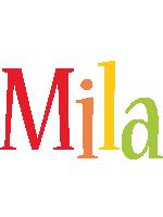 Mila birthday logo
