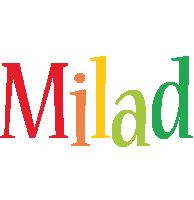 Milad birthday logo