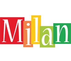 Milan colors logo