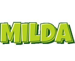 Milda summer logo