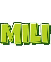 Mili summer logo