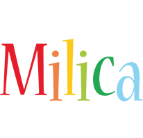 Milica birthday logo
