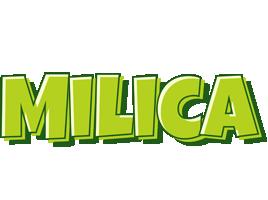 Milica summer logo