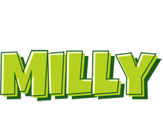 Milly summer logo