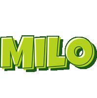 Milo summer logo