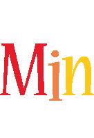 Min birthday logo