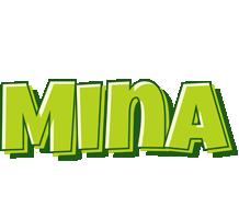 Mina summer logo