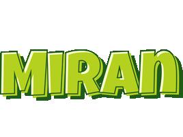 Miran summer logo