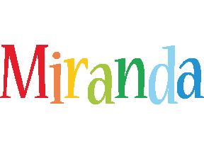 Miranda birthday logo