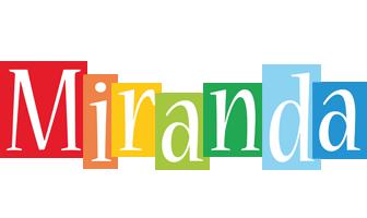 Miranda colors logo