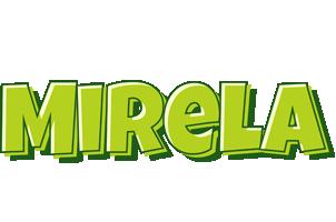 Mirela summer logo