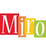 Miro colors logo