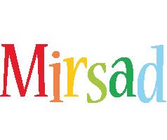 Mirsad birthday logo