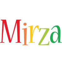 Mirza birthday logo
