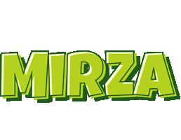 Mirza summer logo