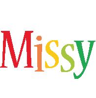 Missy birthday logo