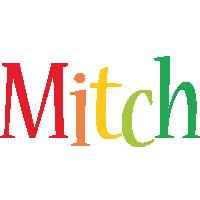 Mitch birthday logo