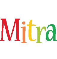 Mitra birthday logo