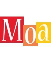Moa colors logo