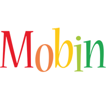 Mobin birthday logo