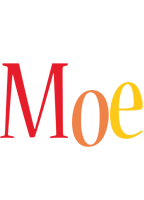 Moe birthday logo