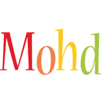 Mohd birthday logo