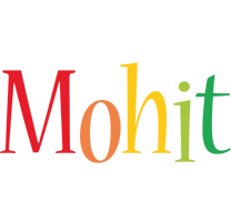 Mohit birthday logo